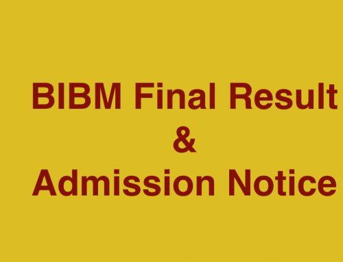 BIBM Final Result