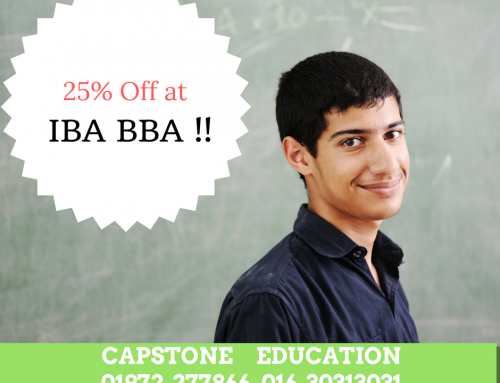 25% Off on BBA IBA Program !